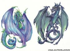 DRAGON SHEET TAT # 3347 lots of COLOR GREAT PRICE Temporary Tattoo