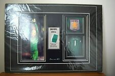 Genuine Authenticated Brad Friedel Worn Shirt Piece with Photos - A3 size
