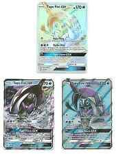 3x- LOT Pokemon SM BURNING SHADOWS Tapu Fini Secret Full Art Holo 152 133 39/147