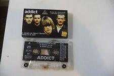 ADDICT 6 EXTRAITS DE L'ALBUM STONES. K7 AUDIO TAPE CASSETTE PROMO.