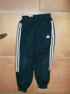 Adidas Boys Track Bottoms Age 7-8