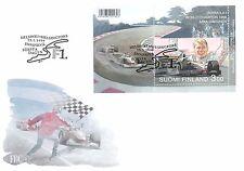 Finland 1999 FDC Sheet Mika Hakkinen Formula One Champion 1998 F1 McLaren Racing