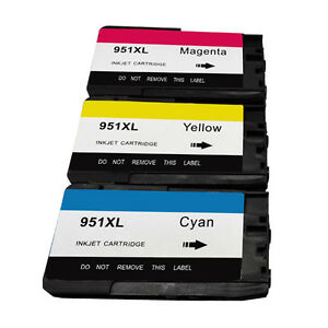 Color Inks for HP 951 XL 951XL Officejet Pro 8610 8600 8100 8615 8620 8625 8630