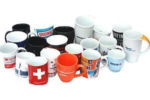 20 Bedruckte Kaffeetassen Mix Tasse Kaffeetasse Tasse Becher Kaffeebecher NEU