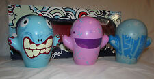 """FOSTER'S HOME For IMAGINARY FRIENDS Complete Set of 3 Figures 6"""" Tall wBox KAZOO"""