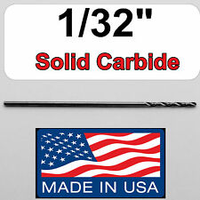 "1/32"" #68 Solid Carbide Drill Bit, Jobber Length, Made in USA, 450-300310 Monstr"