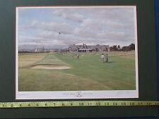 Signé Golf Imprimer par Graeme W. BAXTER-Royal Troon Golf Club