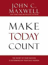 NEW Make Today Count: Daily Agenda to Success by John Maxwell HARDCOVER