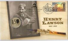 2017 HENRY LAWSON PNC ANDA SHOW MELBOURNE OVERPRINT NUMBERED 114