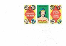 Comics 1960s Collectable Card Games & Trading Cards