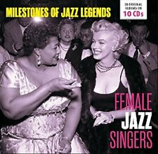 Female Jazz Singers - Milestones Of Jazz Legends [CD]