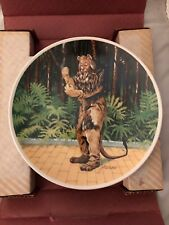 """Knowles China plate Wizard Of Oz """"If I Were King"""" NIB w/ COA Excellent Condition"""