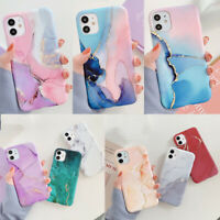 Watercolor Marble Soft Silicone Case Cover For iPhone 11 Pro Max XR XS 8 7 SE 2