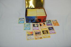 Pokemon Trading Card Game Bulk Pokemon Card Lot + Tin Holo/Reverse 4 Pounds