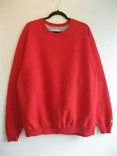 CHAMPION   Men's Red Wavy RETRO Classic SWEATSHIRT Sweater Top   XL TALL
