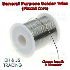 General Purpose Solder Wire Fluxed Core 60/40 Tin Lead Flux DIY Hobbyists Hobby