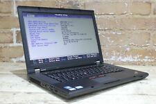 "Lenovo ThinkPad T530 15.0"" pour 3rd Gen 500 Go i5 4 Go Win 10 Grade B 427882"