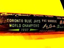 1992 Toronto Blue Jays World Series Champions Black Bat ,Winfield,etc.-Exc./Mint