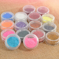 16 Mixed Color Glitter Powder Eyeshadow Makeup Eye Shadow Cosmetics Salon Set E7
