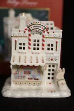 Lenox Village Treasures Mistletoe Park Series CANDY SHOPPE Houe Village Figure
