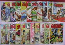 lot Safari 22 numéros entre 24 et 141, éditions aventures et voyages 1969 à 1980