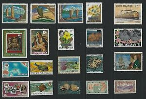 G624 Cook Islands Mixed / A Small Collection Early & Modern Lhm & Used
