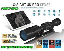 Atn X-Sight 4K Pro 3-14x Rifle Scope / NightSnipe Ns750 Extreme Dimmable Ir Kit