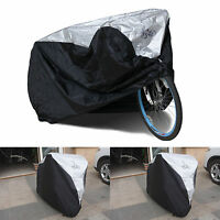 Waterproof Rust Prevention Cycle Bicycle 1 Bike Rain Resistant Cover Garage