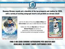 ARIZONA DIAMONDBACKS 2020 Bowman Chrome Baseball 12-Box Hobby Case #1 Break