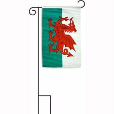 "12x18 12""x18"" Wales Sleeved w/ Garden Stand Flag"