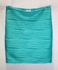 FOREVER NEW Brand Spearmint Cleo Rib Jersey Bodycon Skirt Size 10 BNWT #TF46