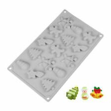 Christmas Silicone Cake Chocolate Baking Mold Soap Candle Mould Jelly Ice Tray