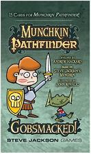 Munchkin Pathfinder Gobsmacked 15 Card Booster Munchkin Card Game Steve Jackson