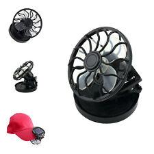 US Clip-on Solar Cell Fan Sun Power energy Panel Cooling /USB Cooler Desk Fan GY
