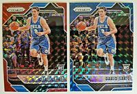 (LOT OF 2) DARIO SARIC 2016-17 PANINI PRIZM Rookie Card RC #15 RED and BLUE HOT!