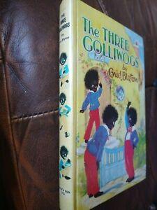Vintage book - The three golliwogs - Enid Blyton. Dean