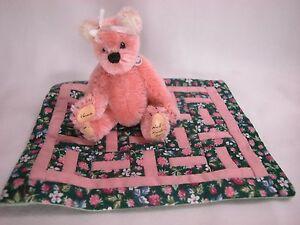"World of Miniature Bears By Theresa Yang 3.5"" Mohair Bear Vanessa #725 CLOSING"