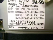 Ricoh IS450SE Image Scanner Power Supply Unit G407-5020 * G4075020 * RC21