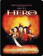 NEW/SEALED - Hero (Blu-ray Disc, 2013, Canadian; Steelbook) Jet Li