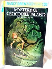 Nancy Drew Mystery of Crococile Island by Carolyn Keene #55 2000