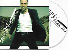 ANDRES - Just like a boomerang CD SINGLE 2TR EUROVISION 2003 SWEDEN Cardsleeve