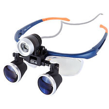 3.5X-4 Medical Surgical Loupe Magnifier + Dental Surgery Headlight Headlamp Nice