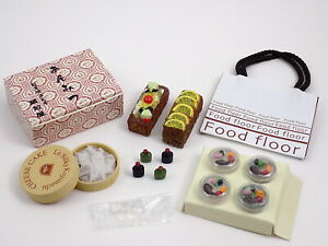 2005 Re-Ment Department Store Shopping #B1F Cheesecake Fruit Barbie Food
