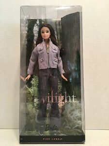Twilight Saga Bella 2009 Pink Label Barbie - R4160 R4162 - New in Sealed Box