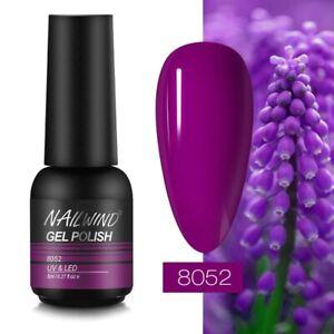 Nail Gel Polish Rainbow Manicure Soak Off Uv Base Top Coat Colour 8ml Nail Gel