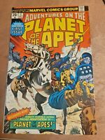 Adventures on the Planet of the Apes #1 Marvel 1975 Beautiful looking copy