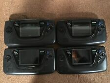 Wholesale Lot - 4pc Sega Game Gear Color Portable System for Repair or Parts