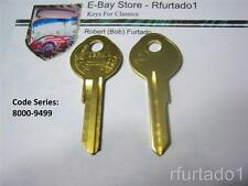 Key Blanks for La Salle 1936-38,  Nash 1935-42,  GM 1935-66 Gbox/Trunk (O1098LA)