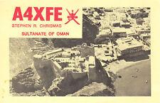 A4XFEZ QSL Oman 1973