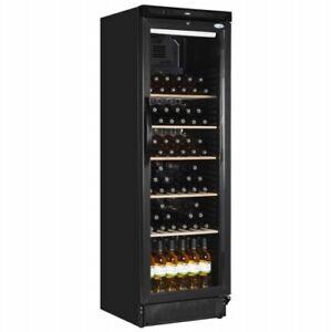 New Interlevin SC381WB Upright Display Chiller Wine Cooler Bar Fridge